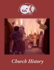 Church History - Cover